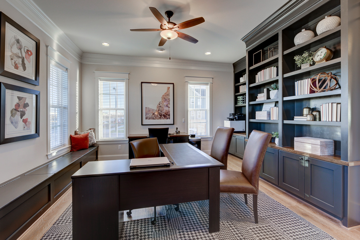 Five Simple Design Ideas To Help A Home Office Shine Lita Dirks Co