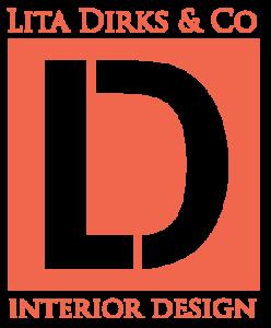 Large Lita Dirks & Co. Interior Design orange logo