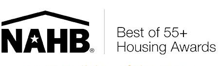 NAHB best of 55+ housing awards logo