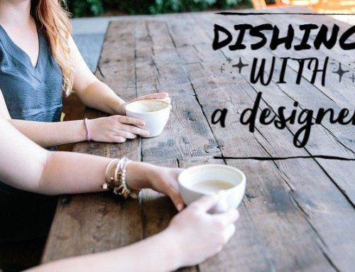 Dishing with a Designer: Jenn Reece
