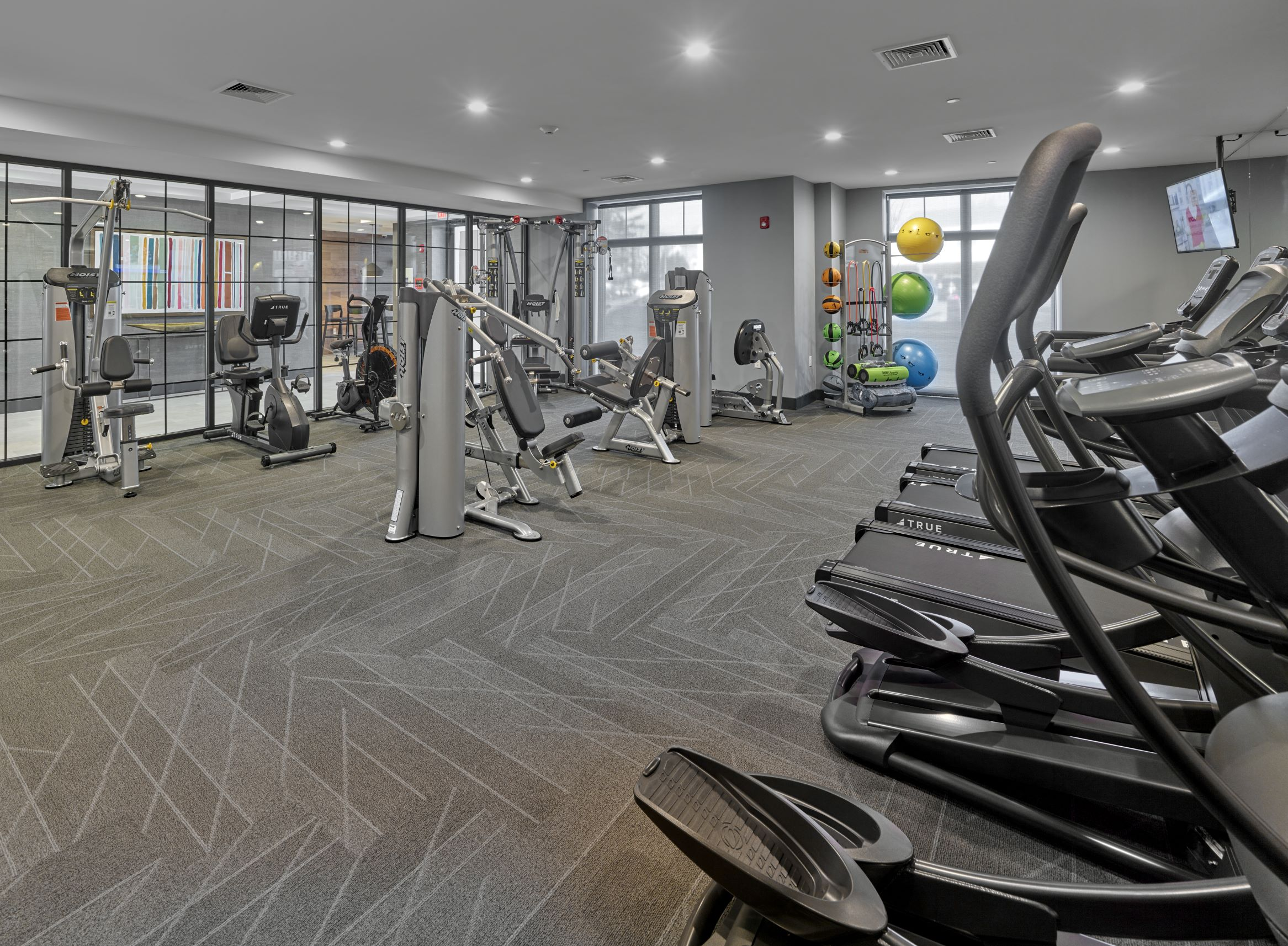Multifamily workout space