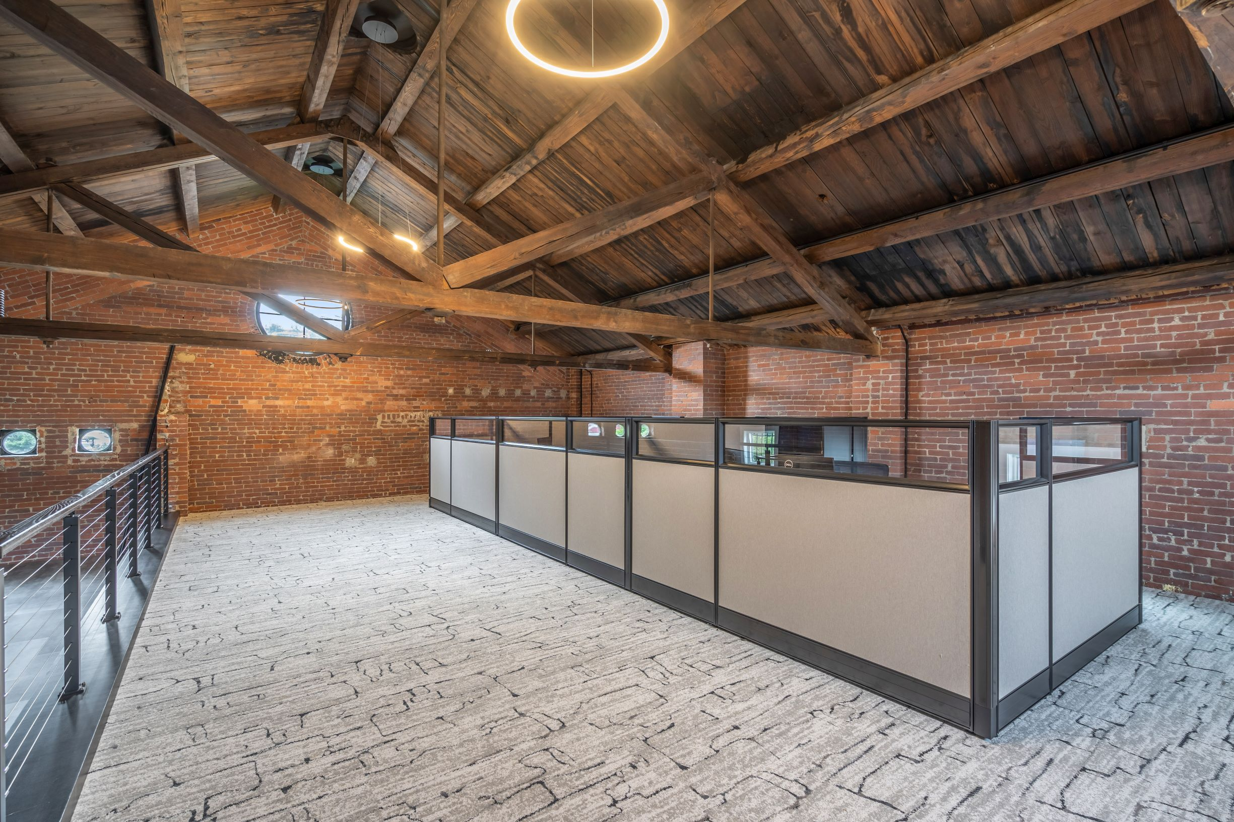 Hip warehouse office space
