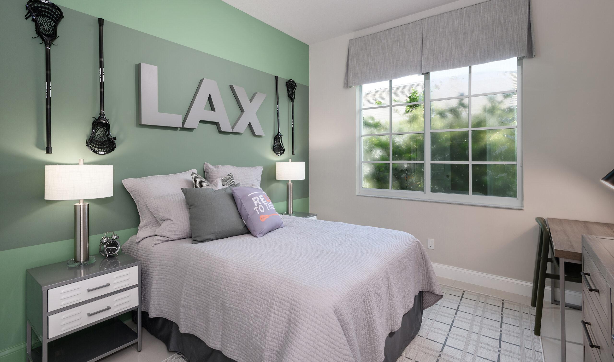 Kids Bedroom Design in FL model home